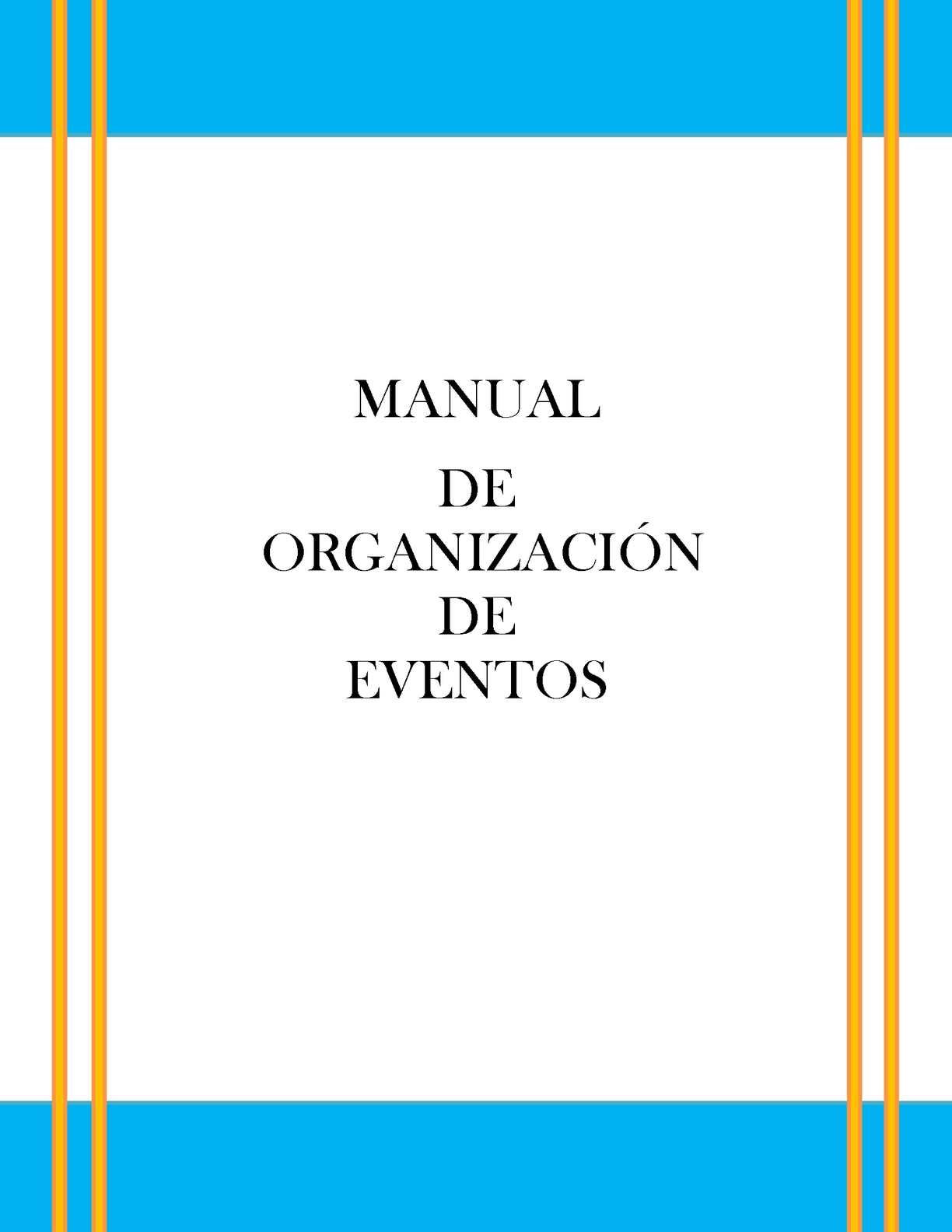 Calam O Manual De Eventos