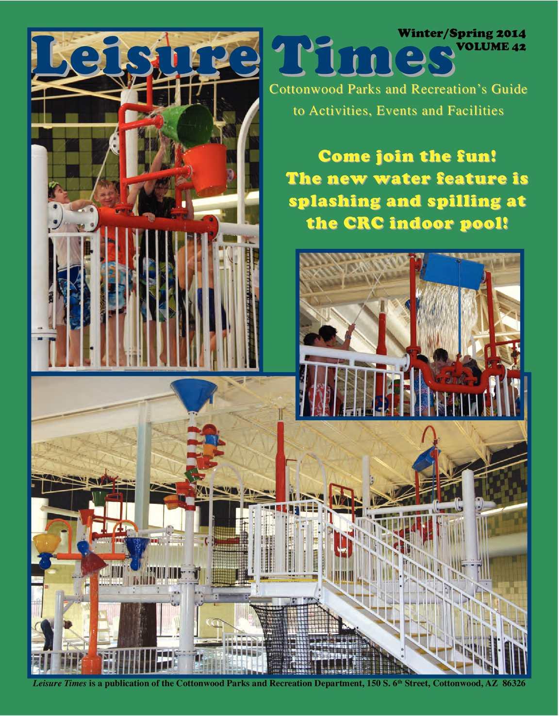 Calaméo - Cottonwood Recreation s Leisure Times Winter Spring 2014 0c7ac86315d66