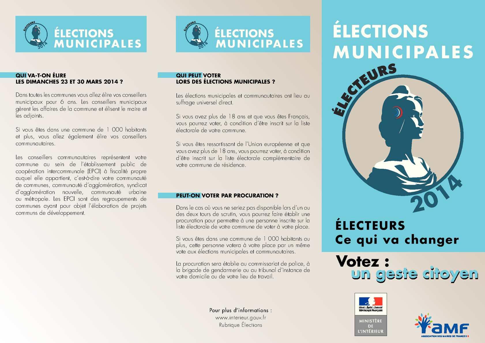 Calaméo - Elections