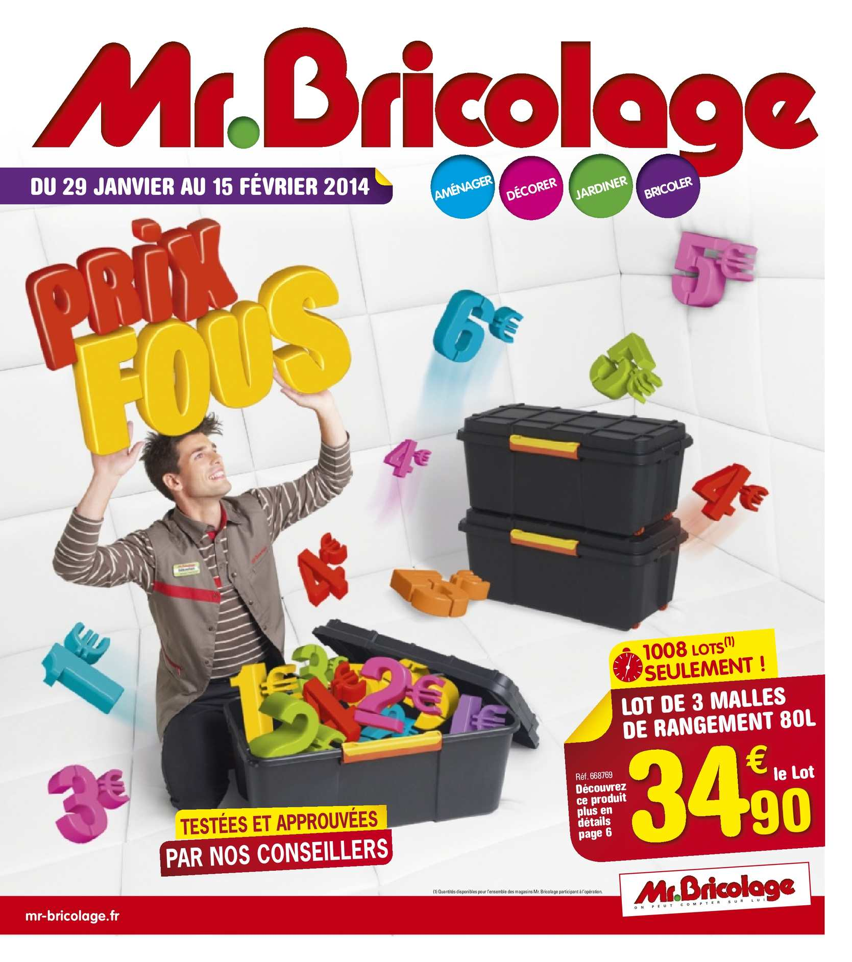 calam o catalogue mr bricolage 10 jours fous. Black Bedroom Furniture Sets. Home Design Ideas