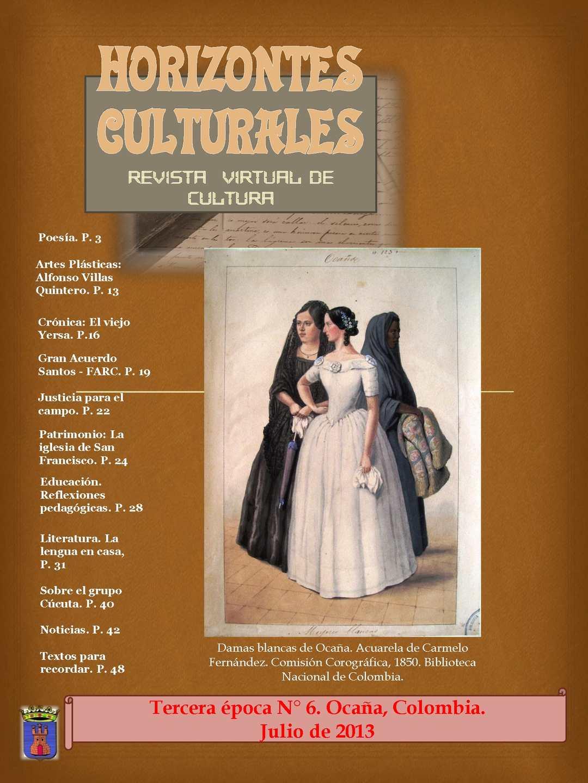 Calaméo - HORIZONTES CULTURALES 6 2013