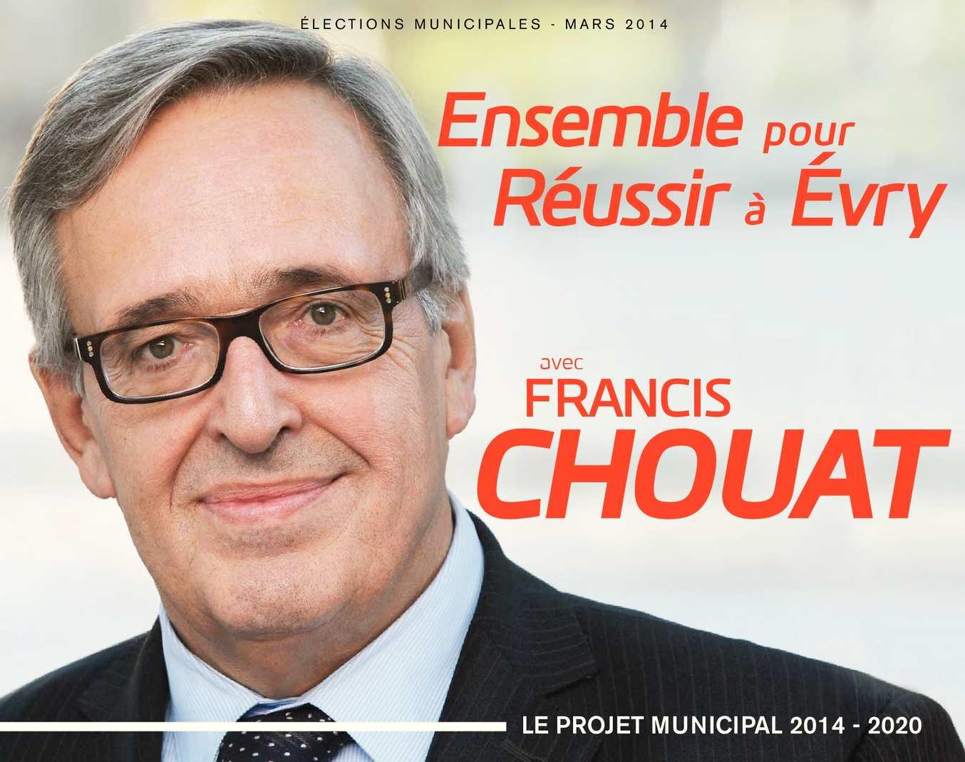 """Programme de la liste """"Ensemble pour réussir à Evry"""