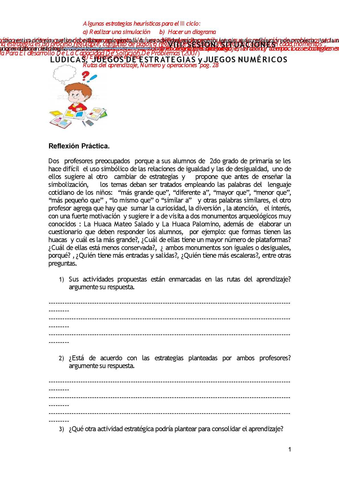 SITUACIONES LÚDICAS, JUEGOS DE