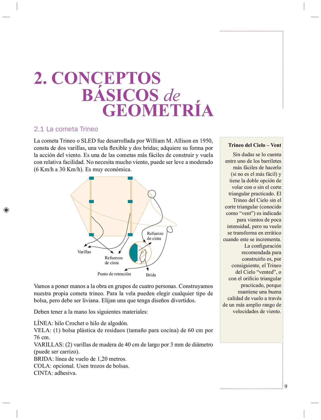 Geometría para cometas 3