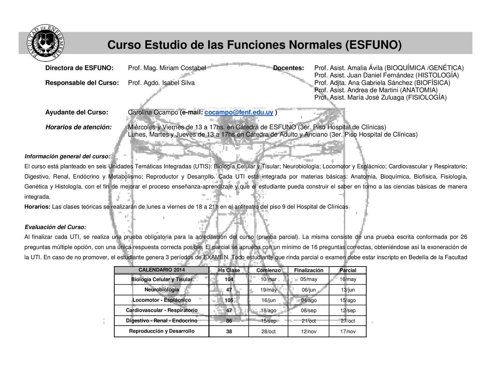 Calaméo - Cronograma ESFUNO-Profesionalización
