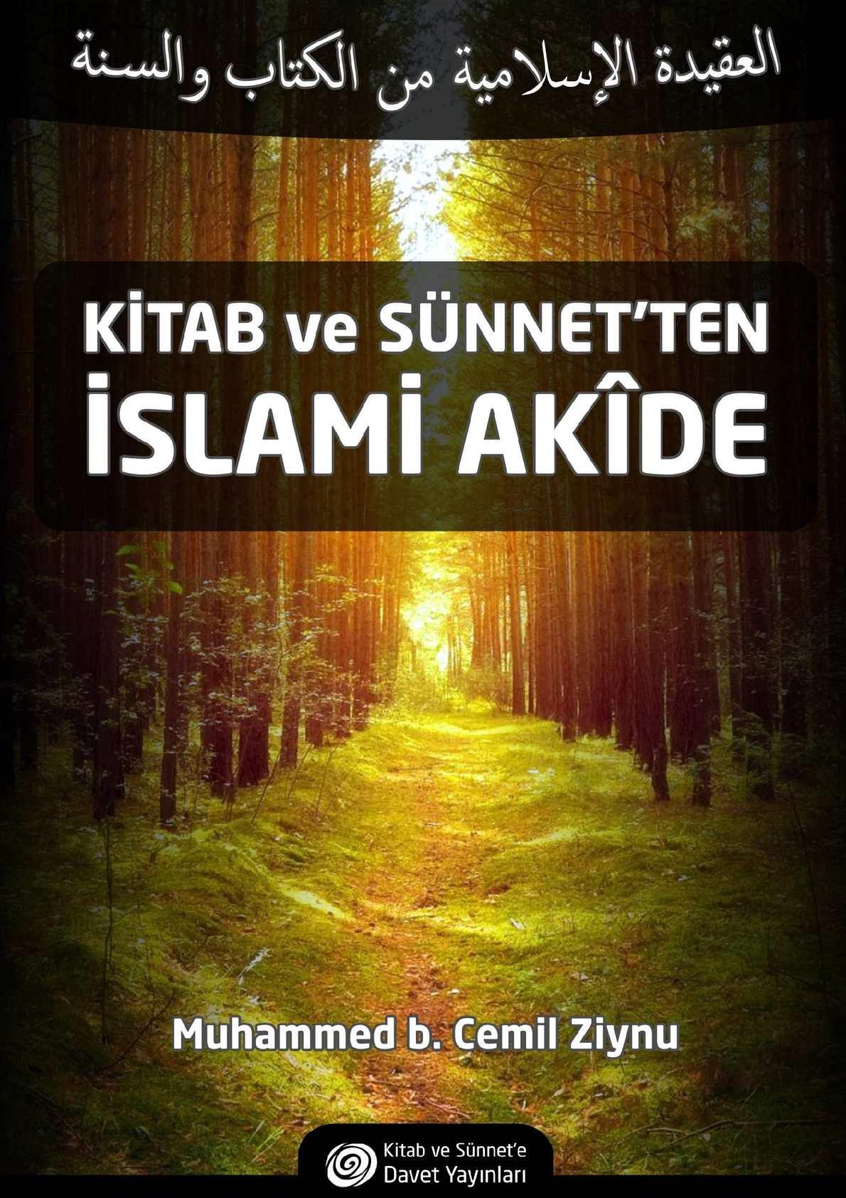 Kitab Sünnet'ten İslami Akide