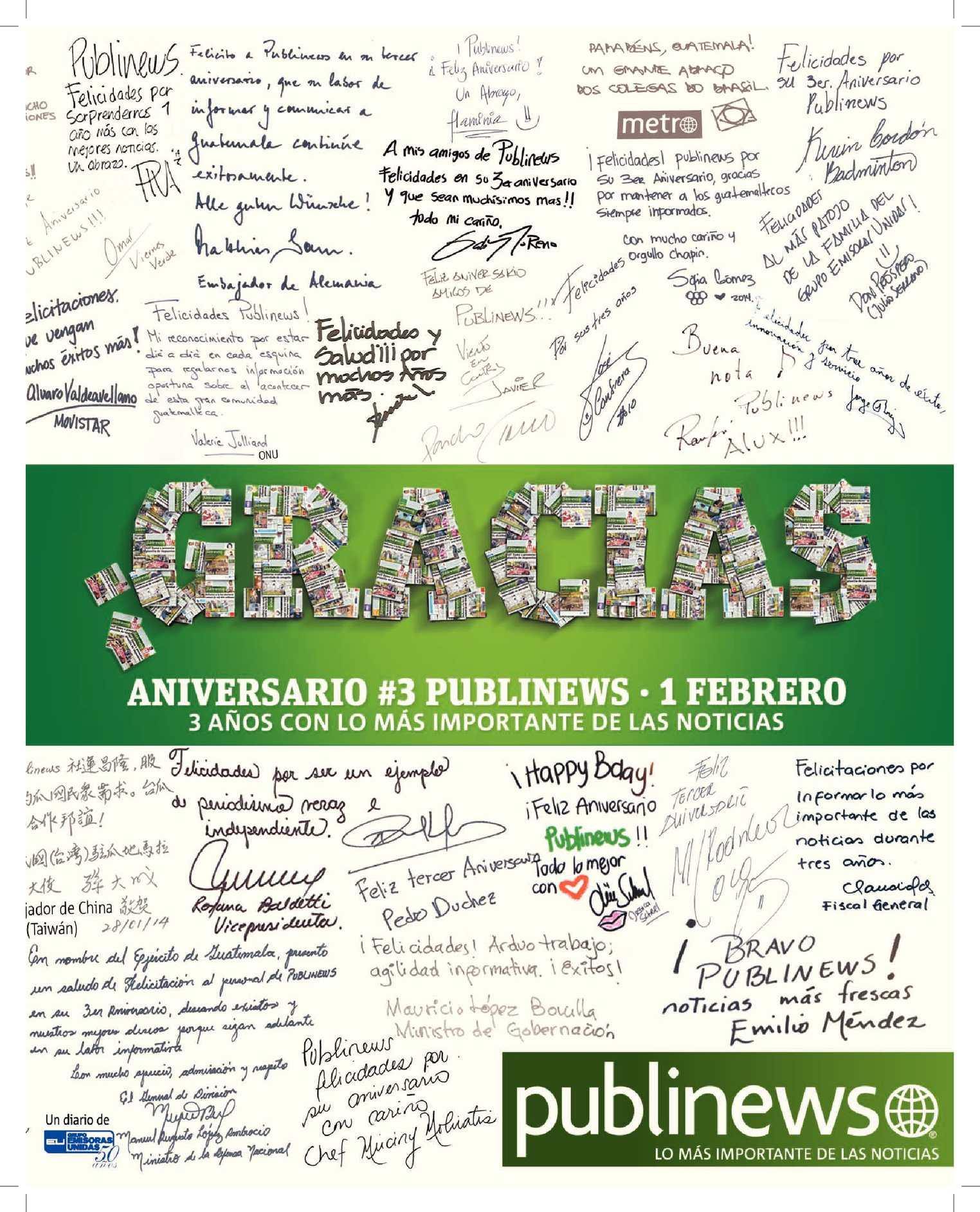 Calaméo - GUATEMALA CITY 31012014