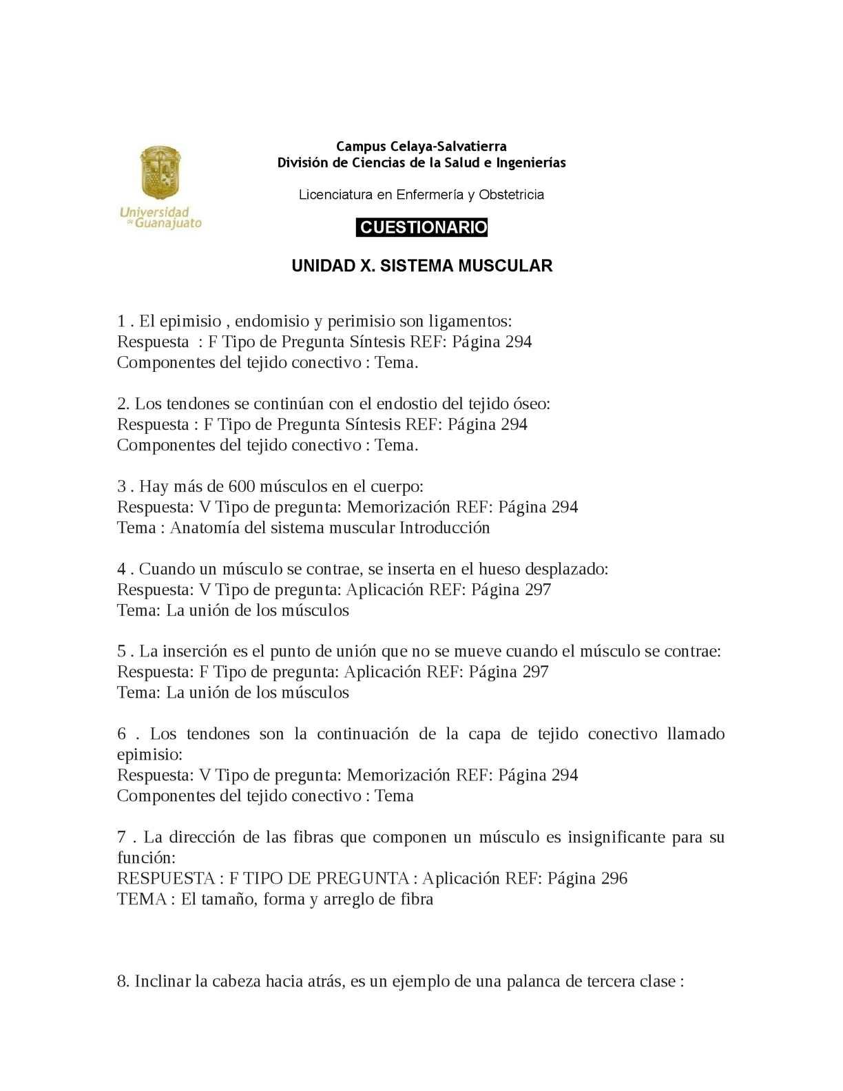 Calaméo - TAREA 12. CUESTIONARIO MUSCULO
