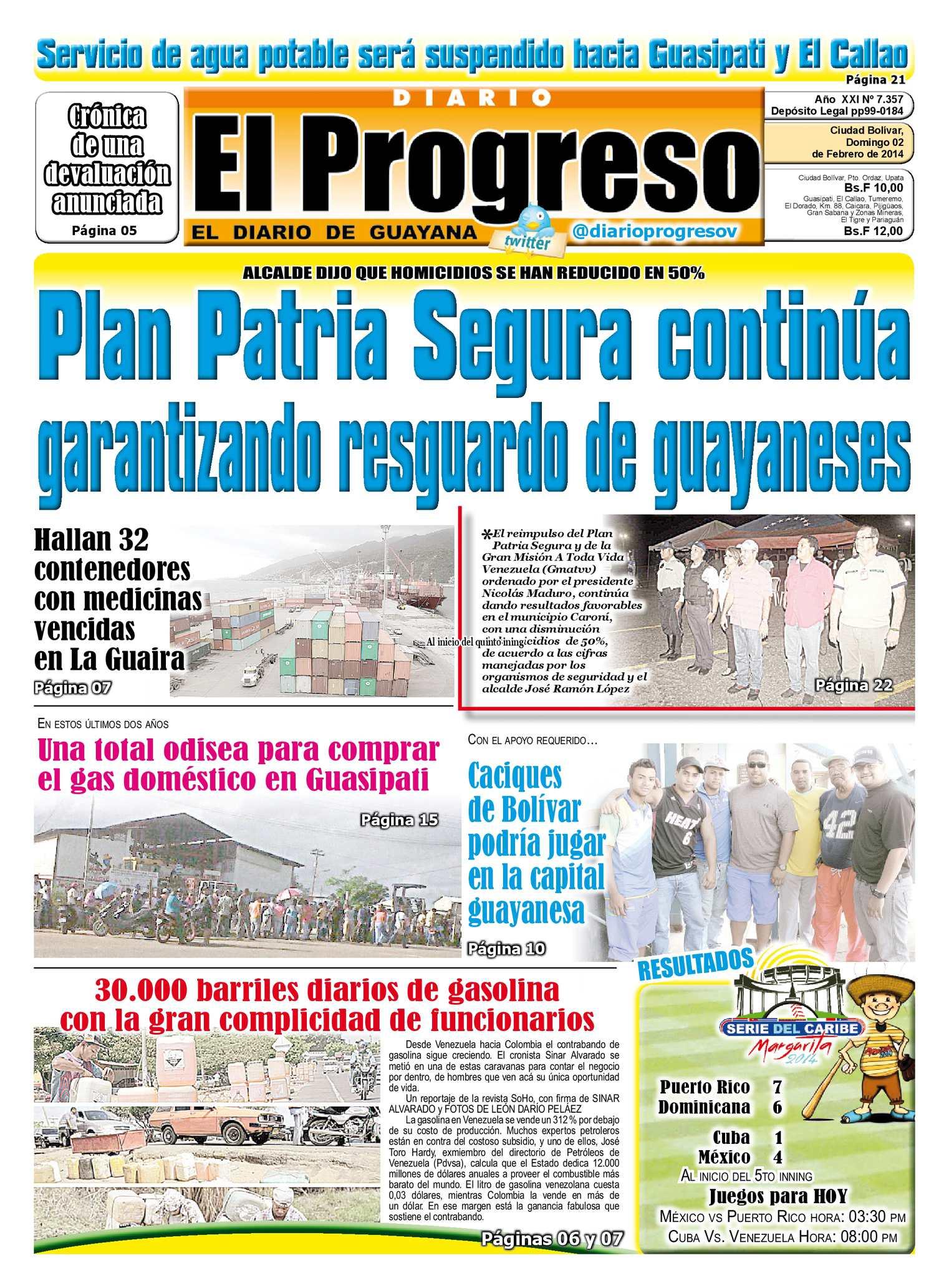 Calaméo - DIARIO EL PROGRESO EDICIÓN DIGITAL 02-02-2014