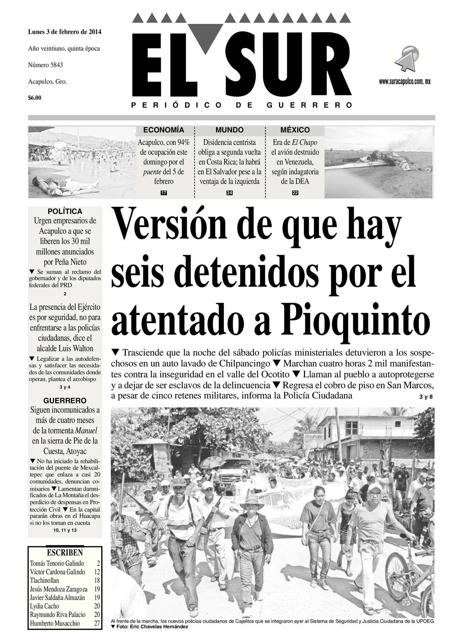 Calaméo - El Sur Lunes 03022014.pdf