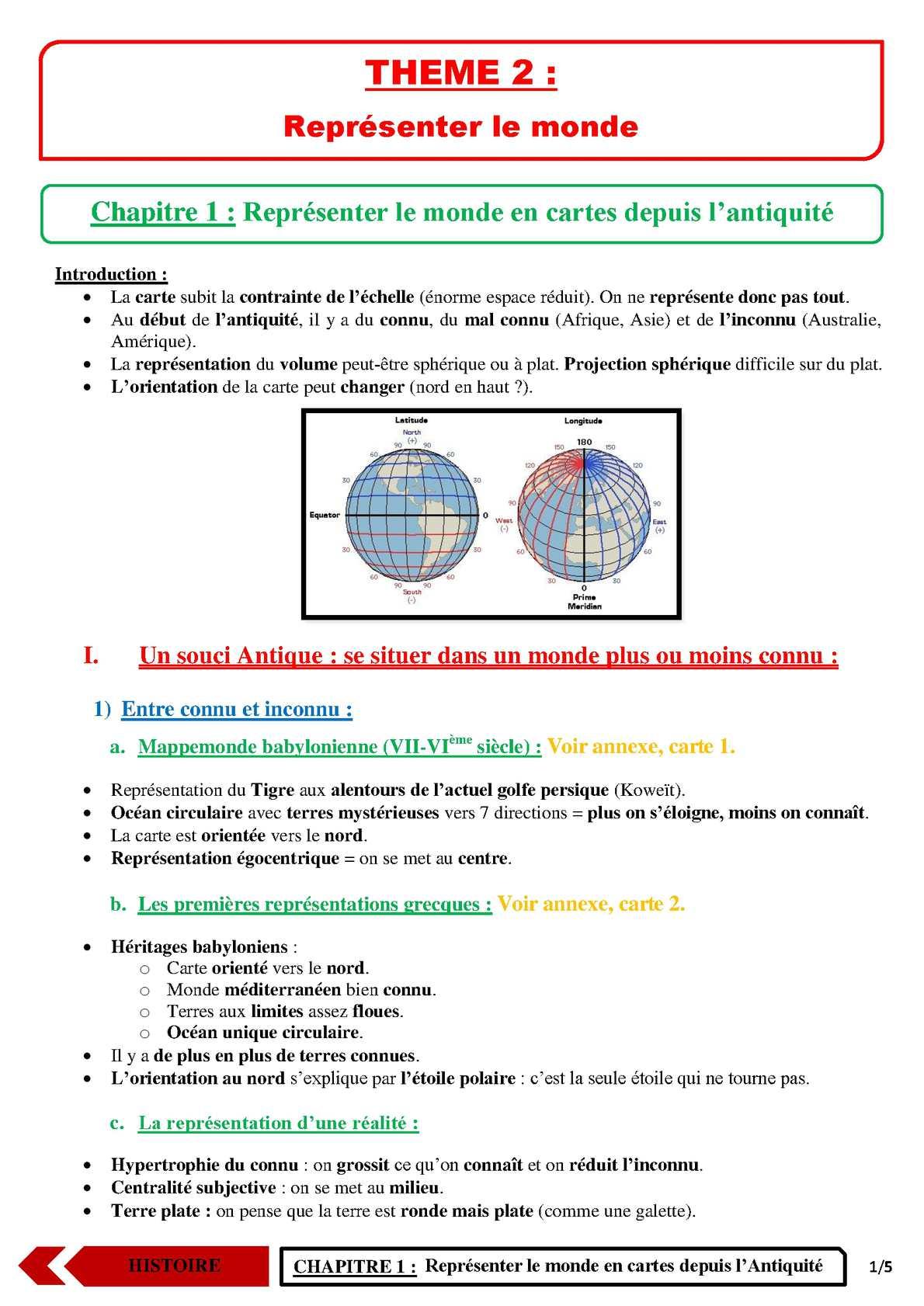 TS - HISTOIRE-GEOGRAPHIE - Chapitre 3 | JéSky.fr