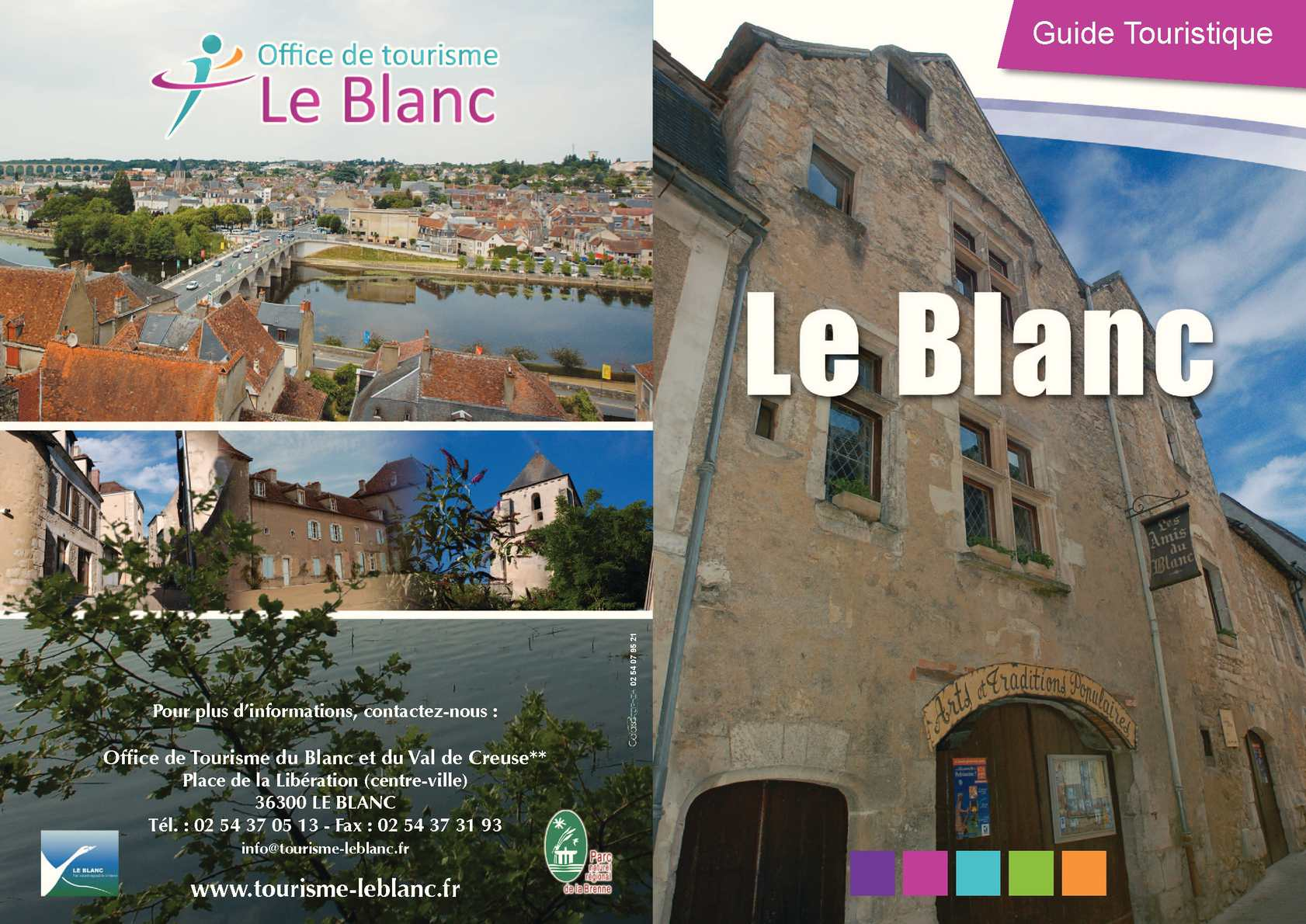 office de tourisme 36300 le blanc