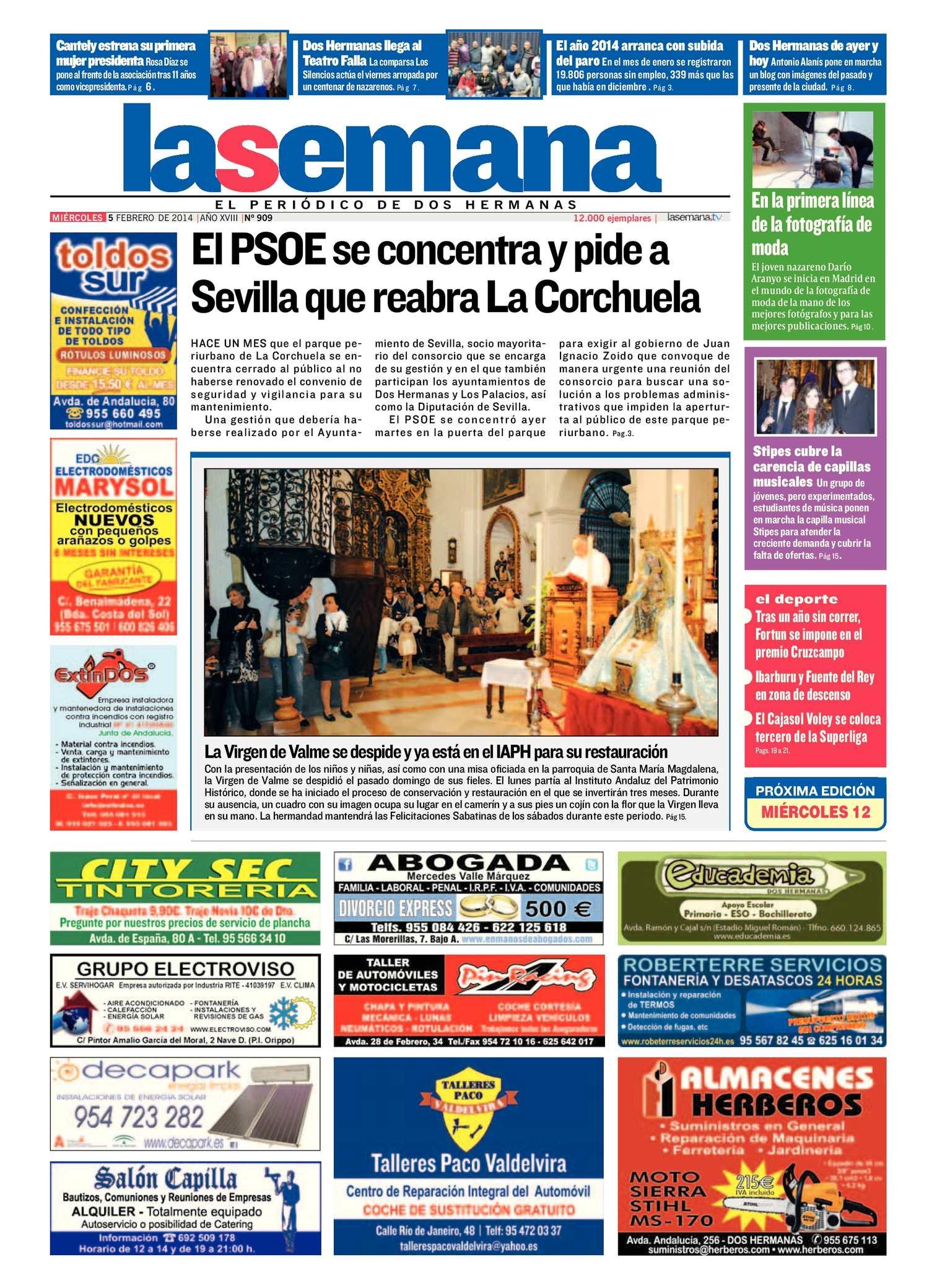 Calaméo - Periódico La Semana de Dos Hermanas Nº 909