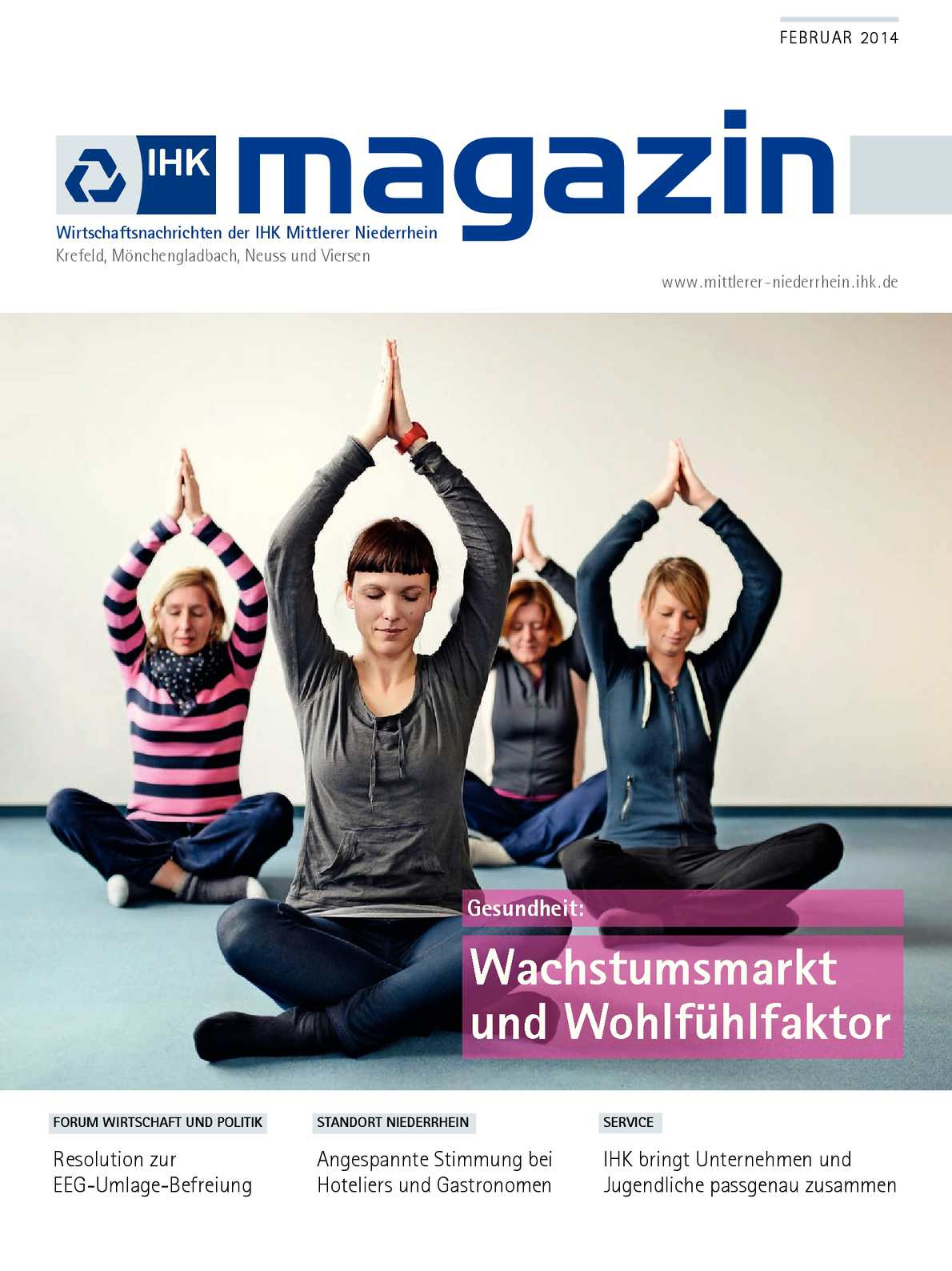 Calaméo - IHK Magazin Februar 2014