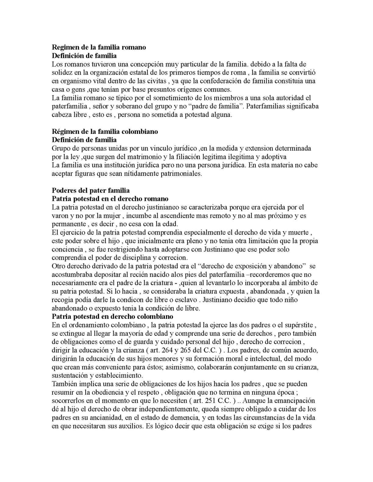Diferencias Entre Matrimonio Romano Y El Venezolano : Calaméo regimen de la familia romano docx