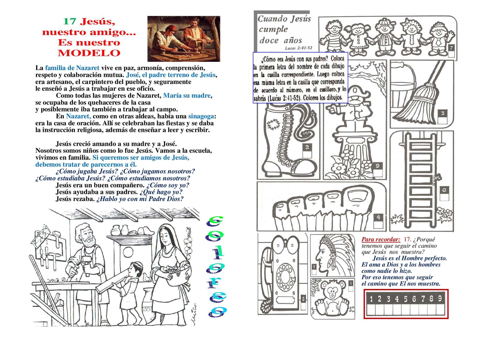 Calaméo - Fichas para niños 17-21