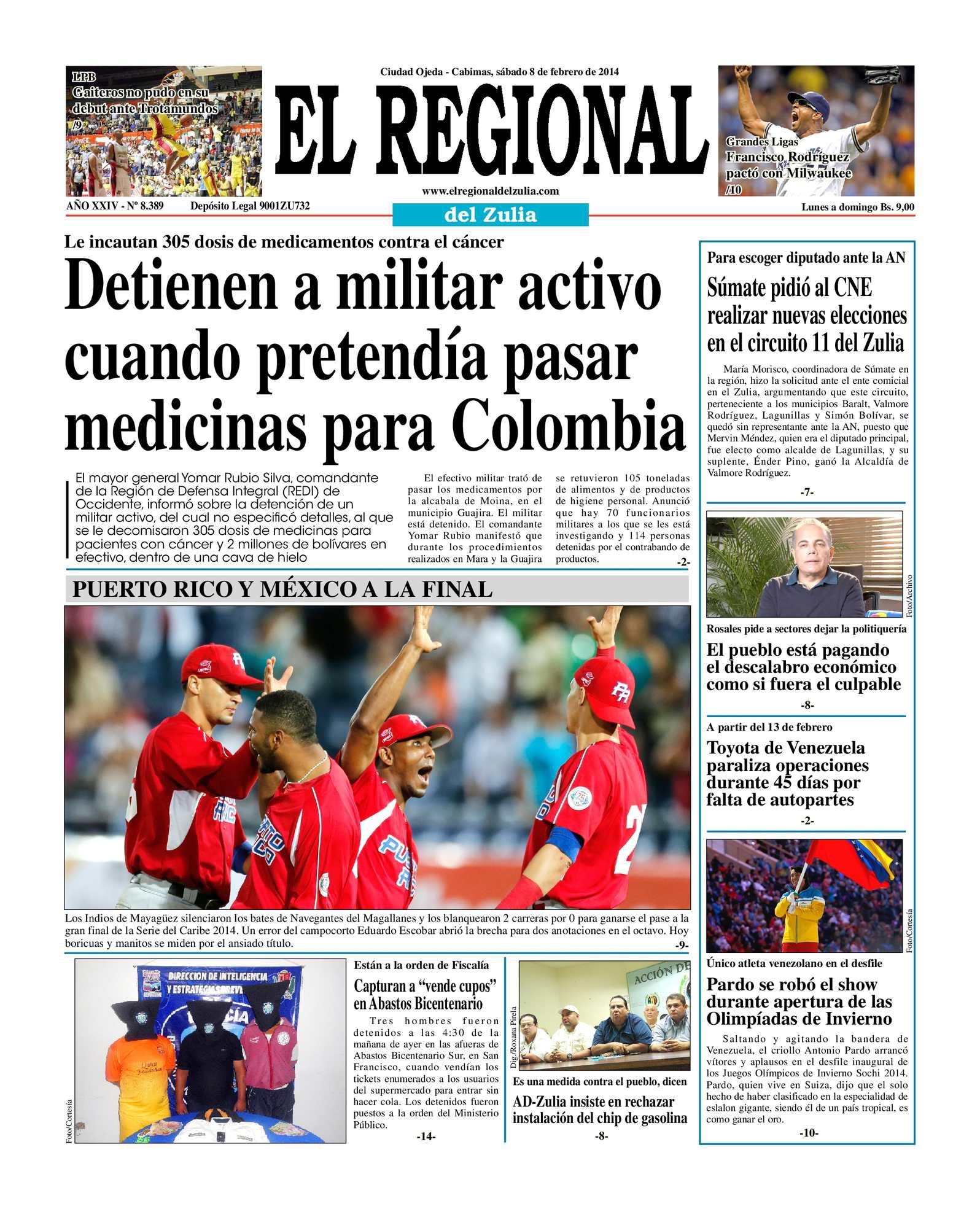 Calaméo - El Regional del Zulia 08-02-2014