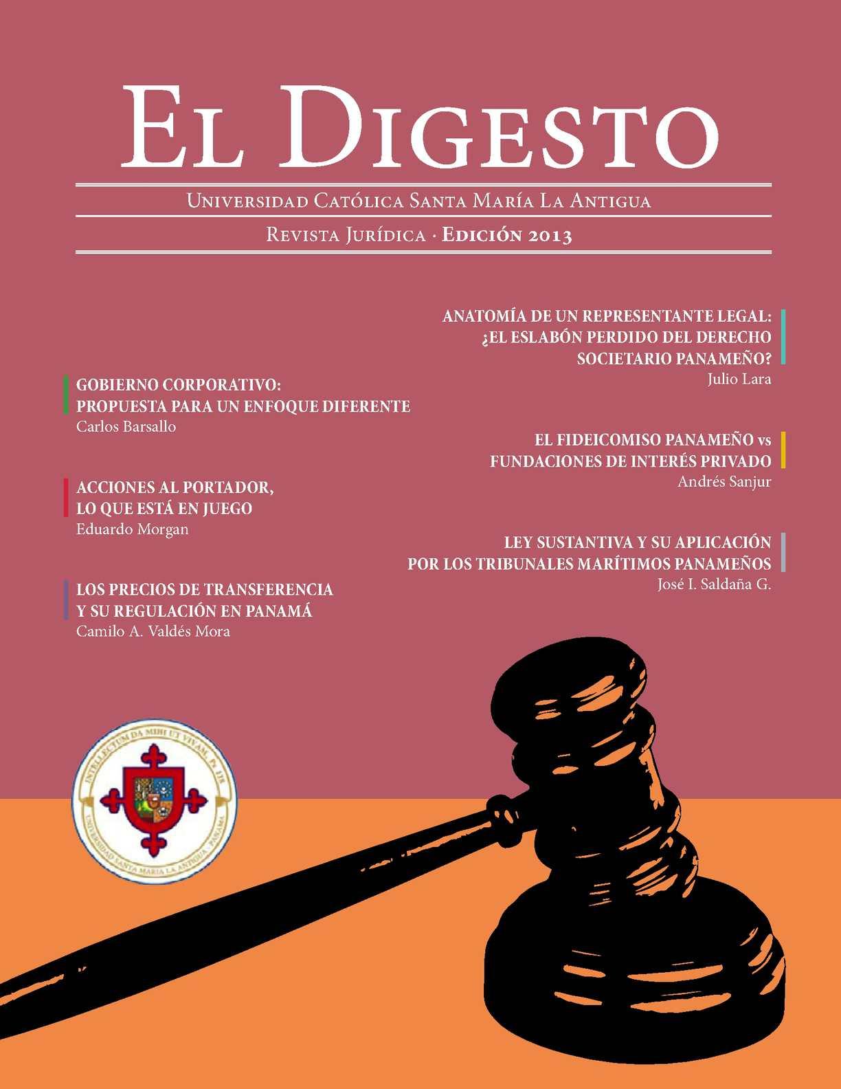 Calaméo - EL DIGESTO 2013