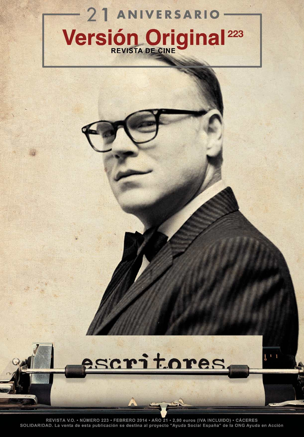 Revista de Cine Versión Original 223. Escritores