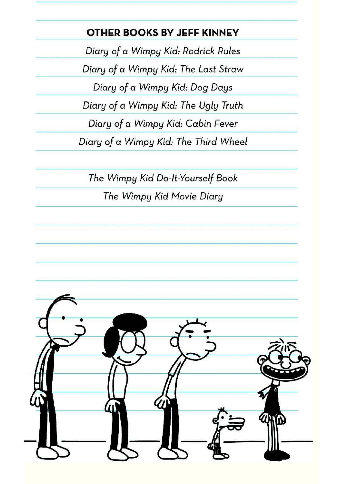 Diary of a wimpy kid 1 calameo downloader page 5 solutioingenieria Choice Image