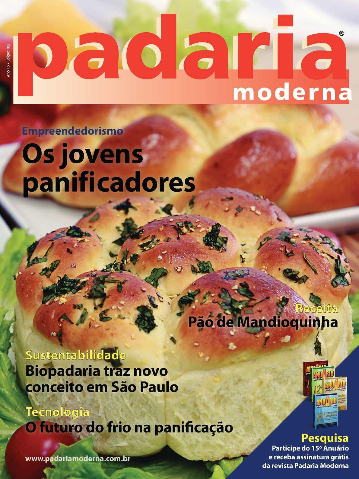 Revista Padaria Moderna - Edição 183