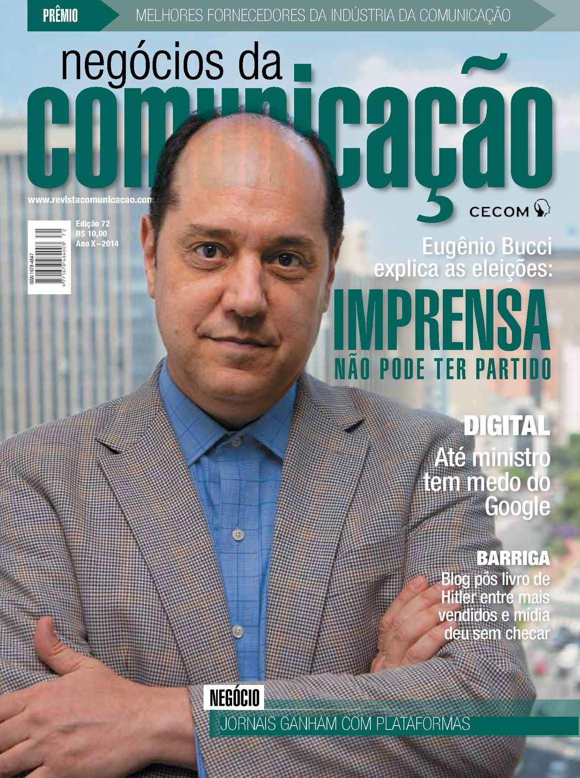 Calaméo - Negócios da Comunicação - Edição 72 e30ddf6c7d