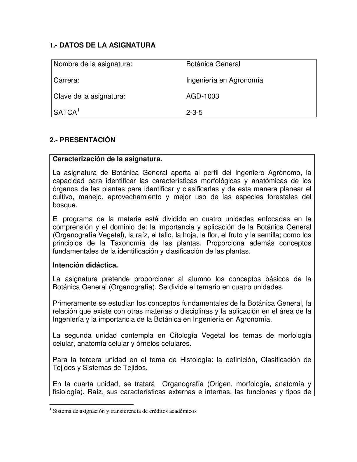 Calaméo - Botánica General