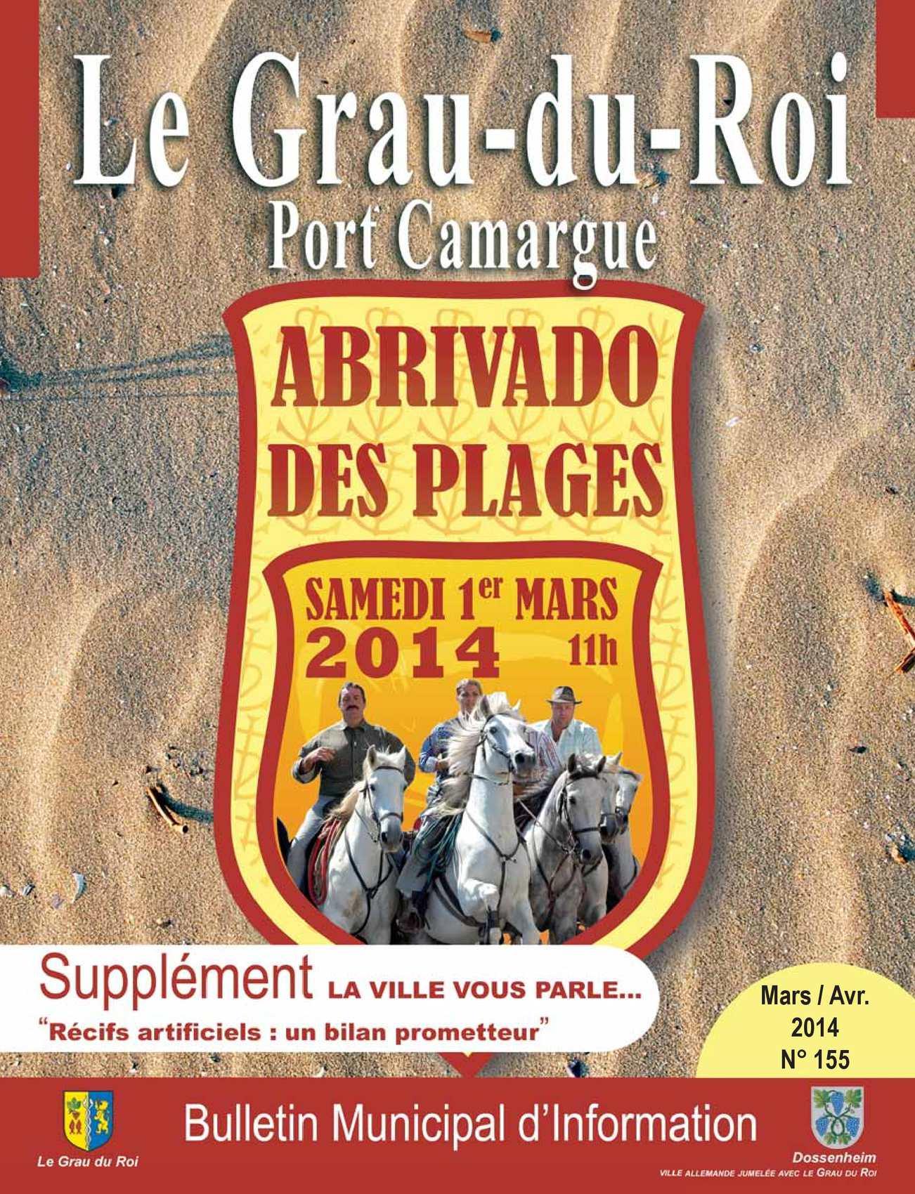 Calam o le grau du roi port camargue bulletin d 39 information municipal n 155 - Le grau du roi port camargue ...