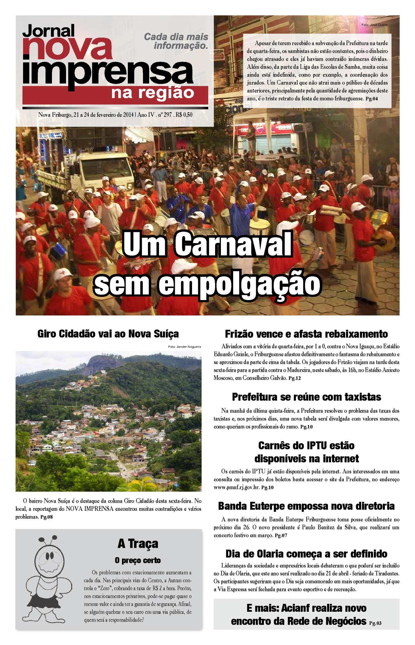 Jornal Nova Imprensa - Edição 297