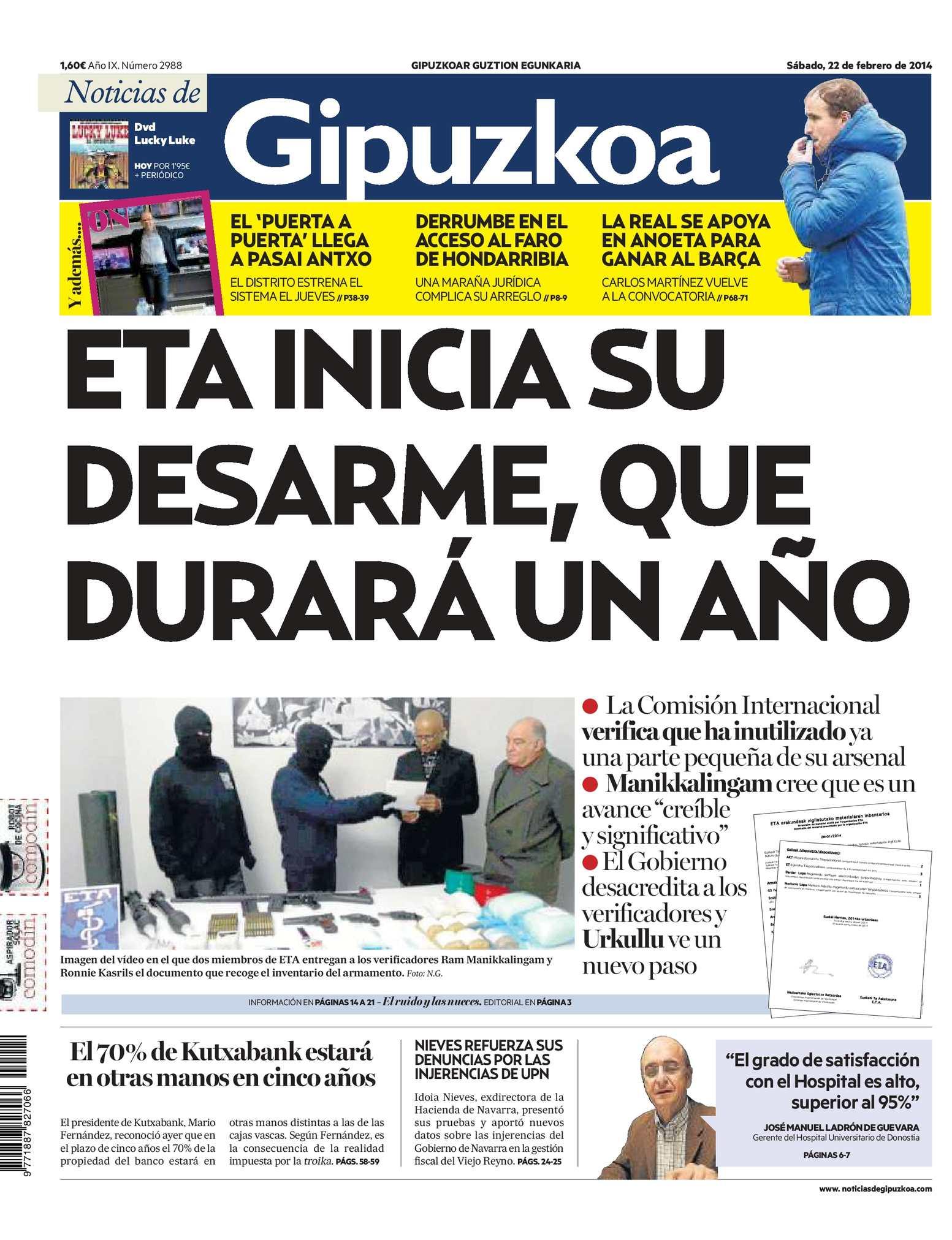 Calaméo - Noticias de Gipuzkoa 20140222