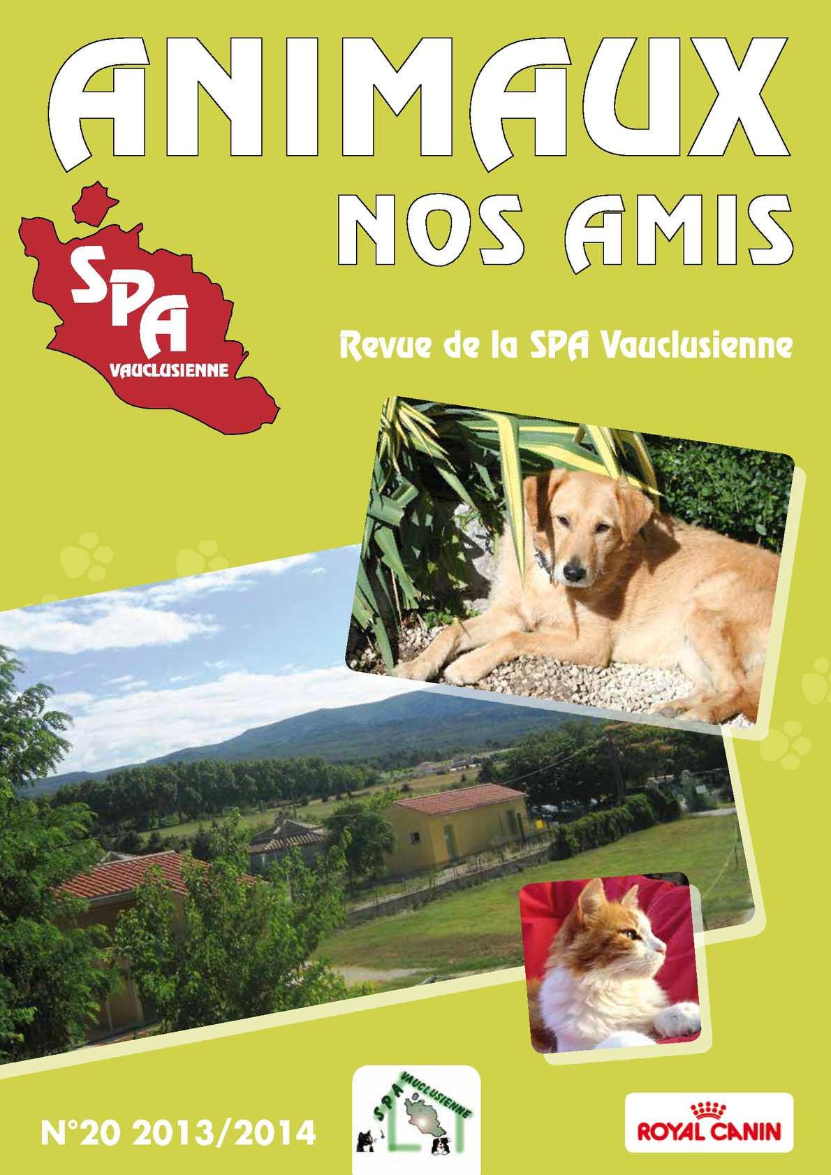 Calam o magazine animaux nos amis n 20 spa vauclusienne - Salon animaux avignon ...
