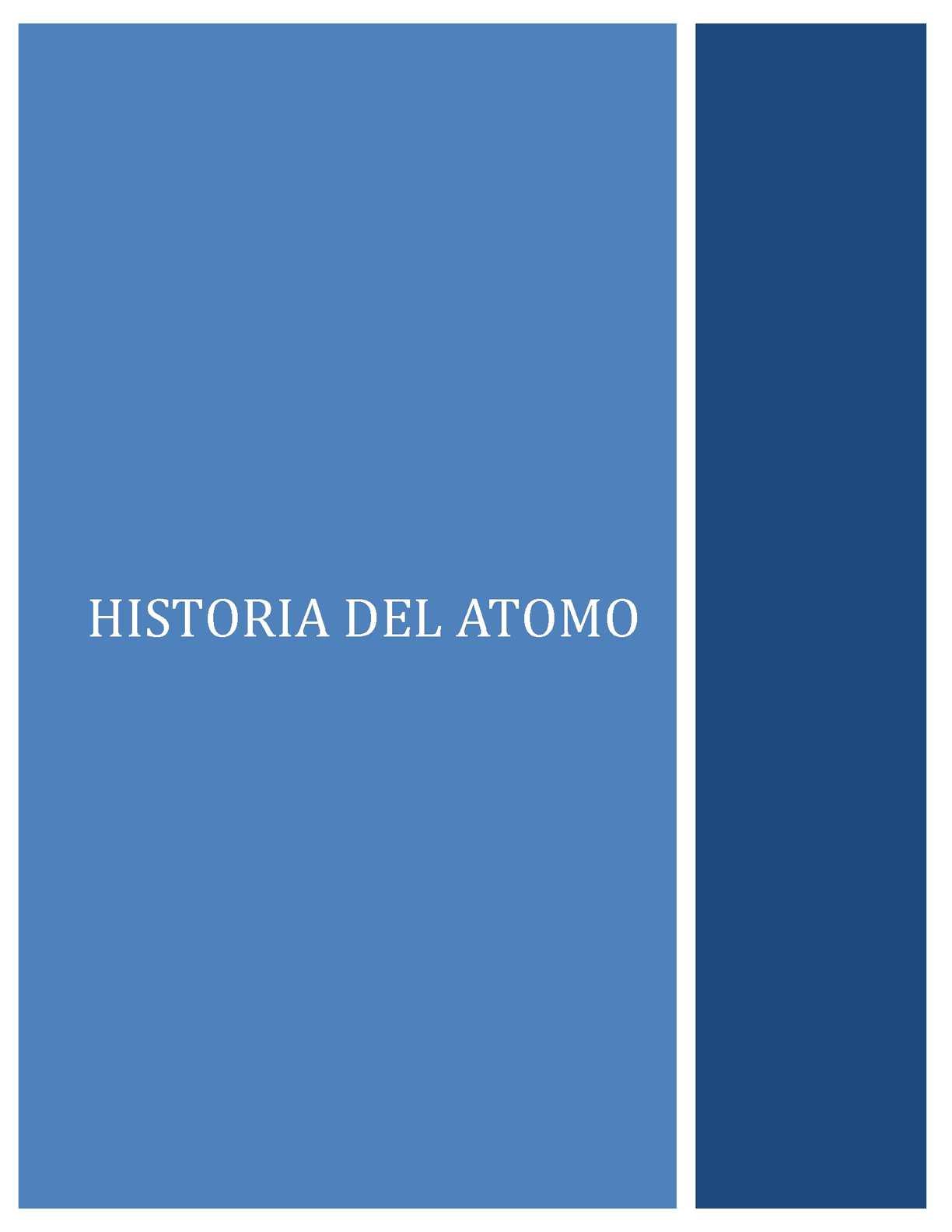 Calaméo - HISTORIA Y ESTRUCTURA DEL ATOMO