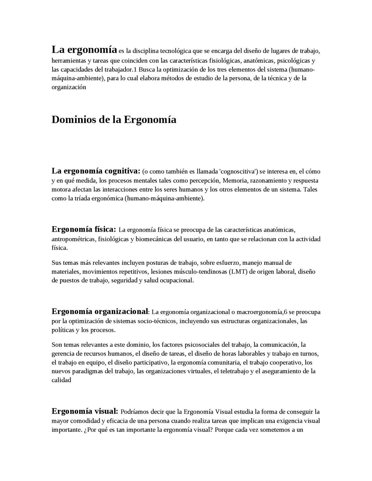Calaméo - LA ERGONOMIA