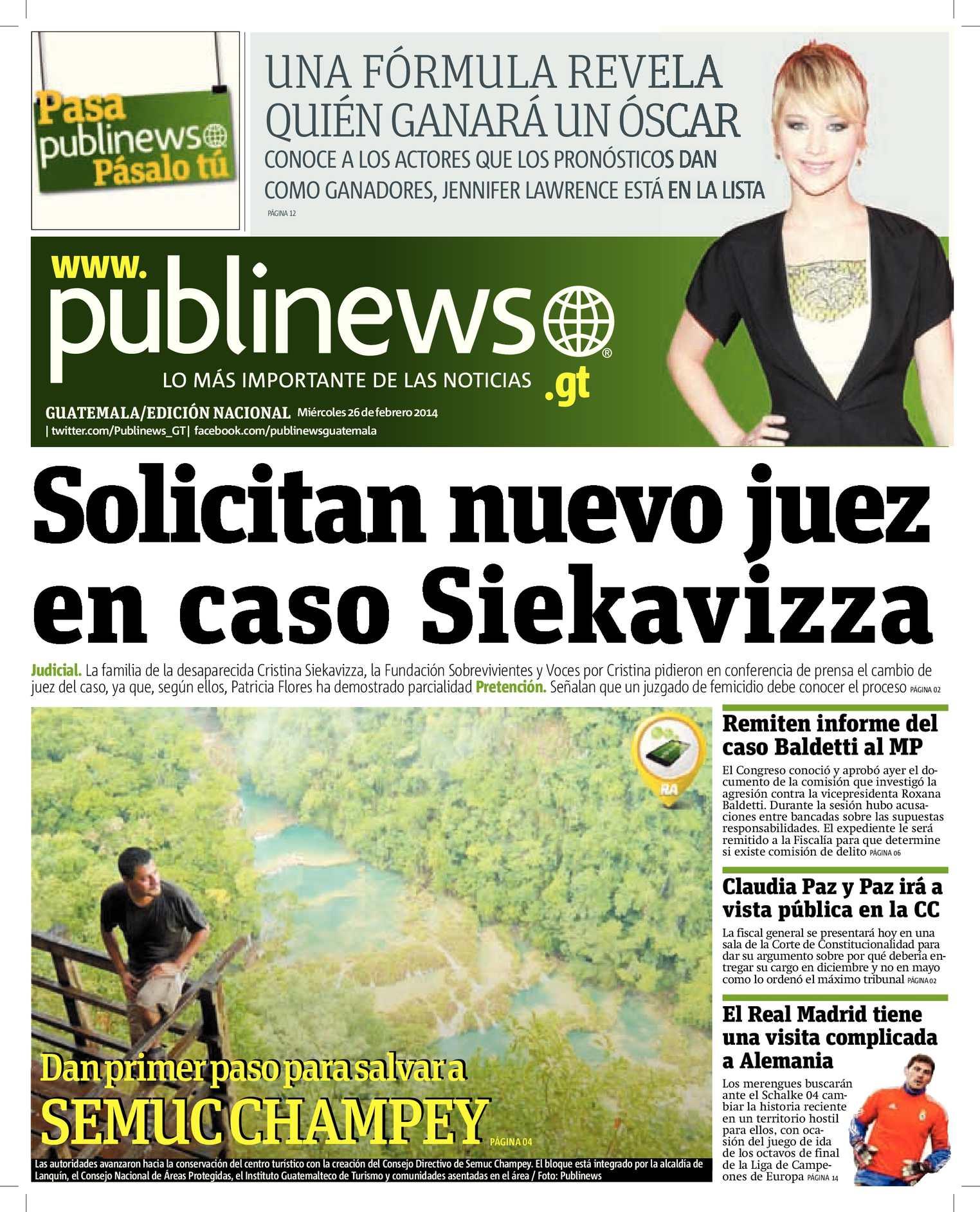Calaméo - GUATEMALA CITY 26022014
