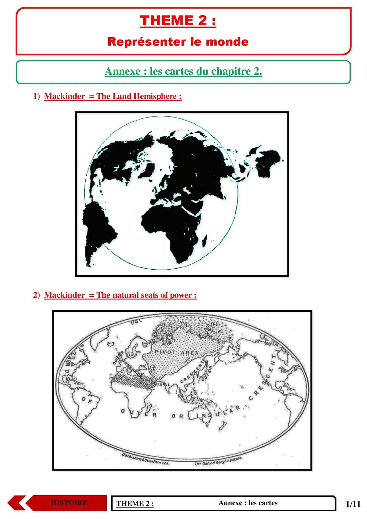 TS - HISTOIRE-GEOGRAPHIE - Annexe chapitre 4 | JéSky.fr