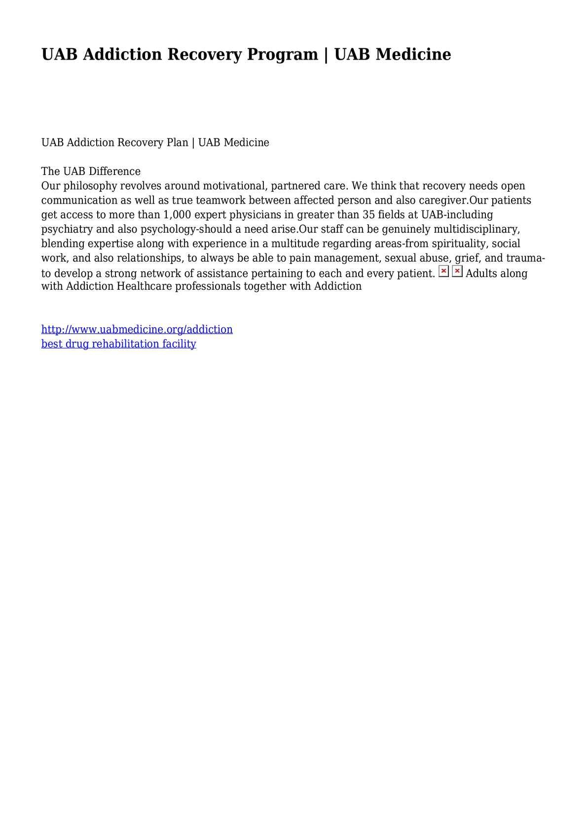 calaméo uab addiction recovery program uab medicine