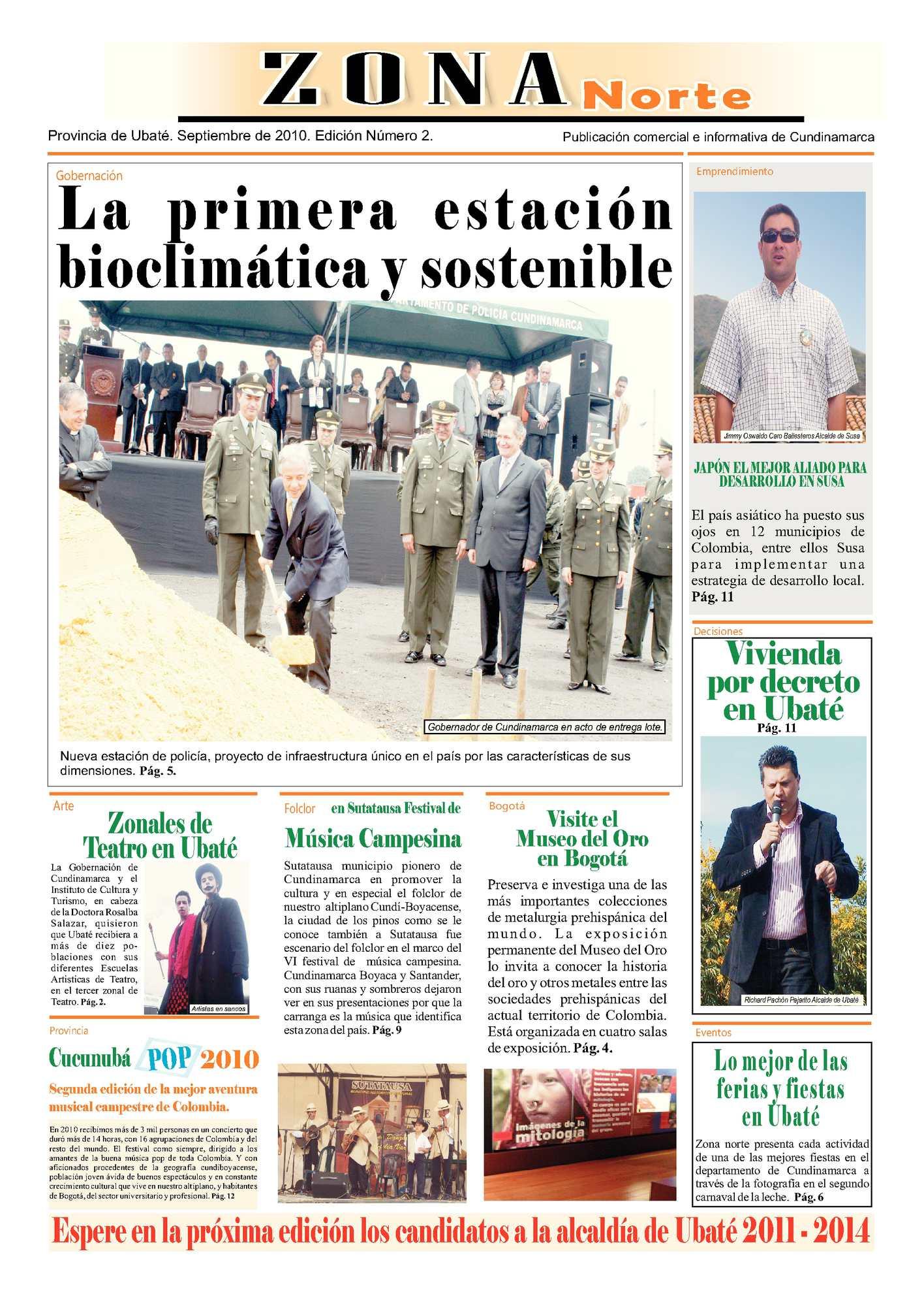 Calaméo - Zona Norte Edición II
