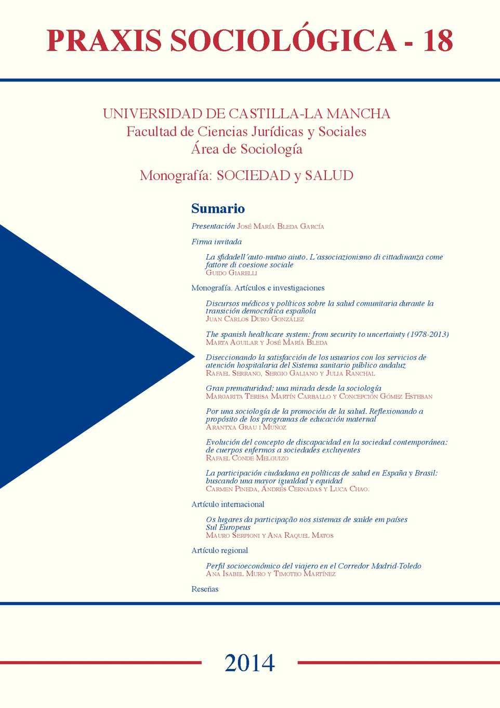Calaméo - Praxis Sociológica, nº18