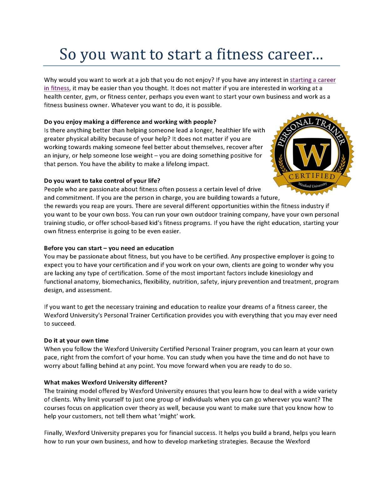 Calamo How To Start A Successful And Rewarding Career As A