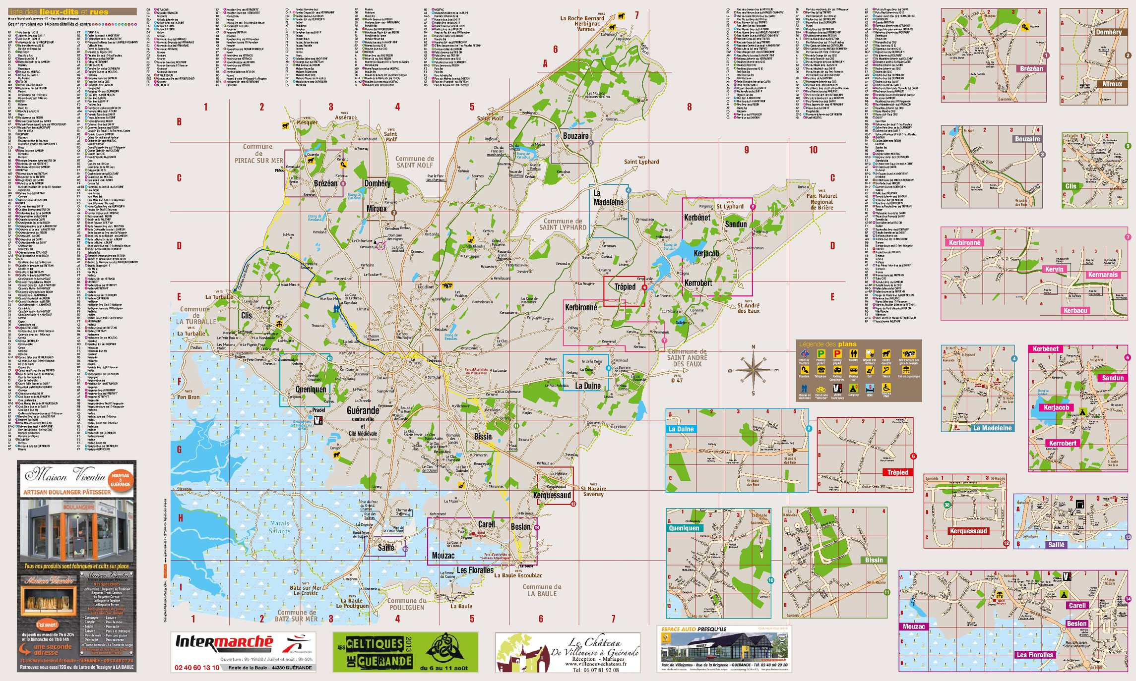 Le Piriac Plan De Ville