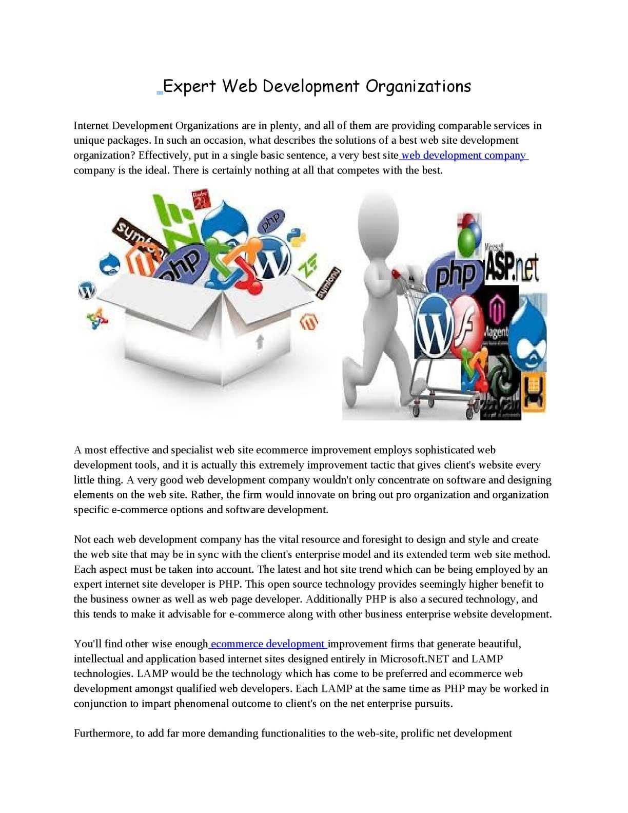 Calaméo   Expert Web Development Organizations