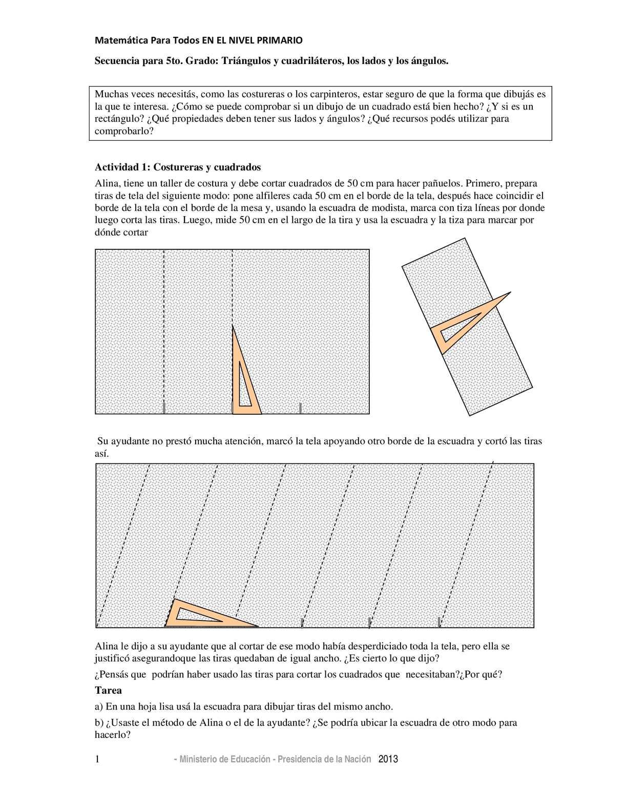 Calaméo - Mini Secuencias Geometría 5to