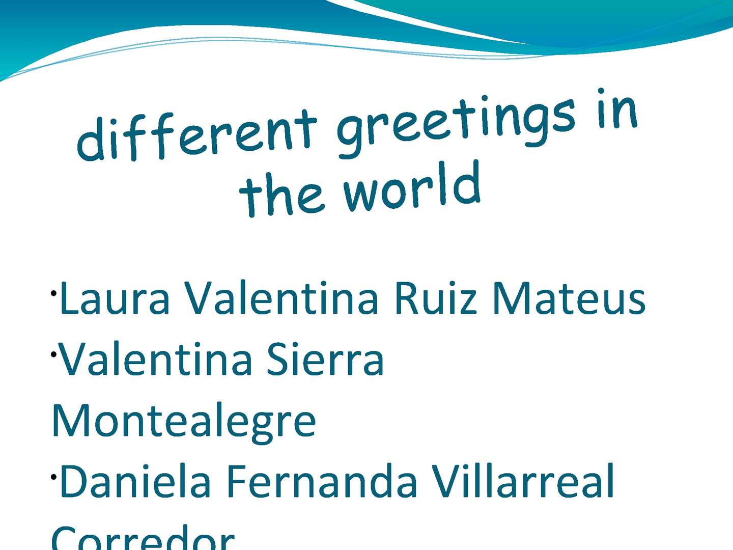 Calamo different greetings in the world kristyandbryce Gallery