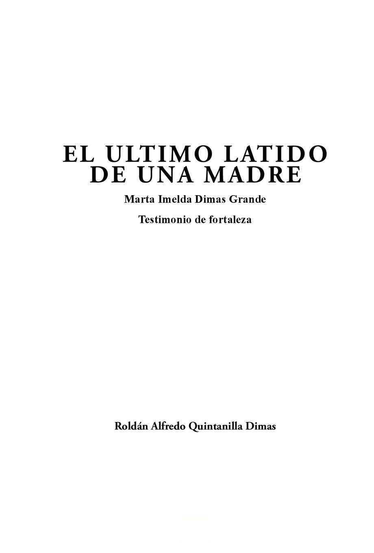 Calaméo - EL ULTIMO LATIDO DE UNA MADRE