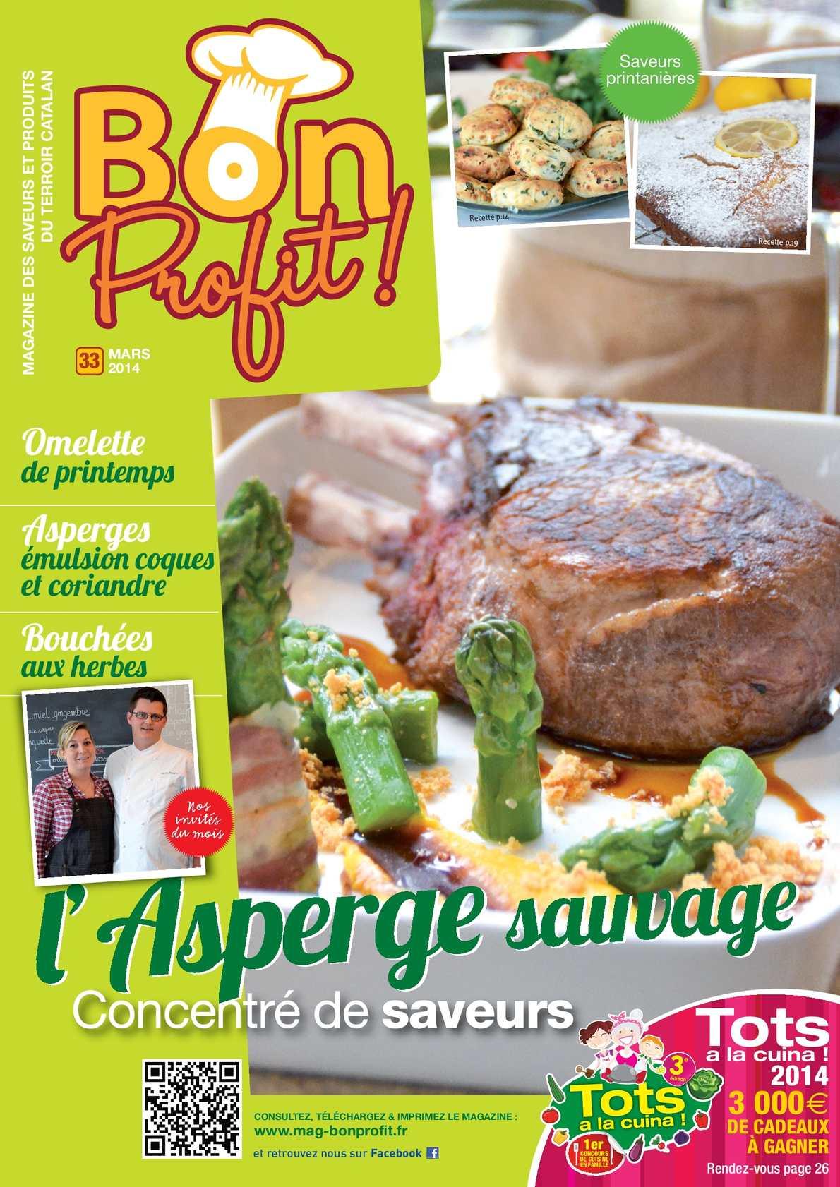 Magazine Bon Profit ! N°33