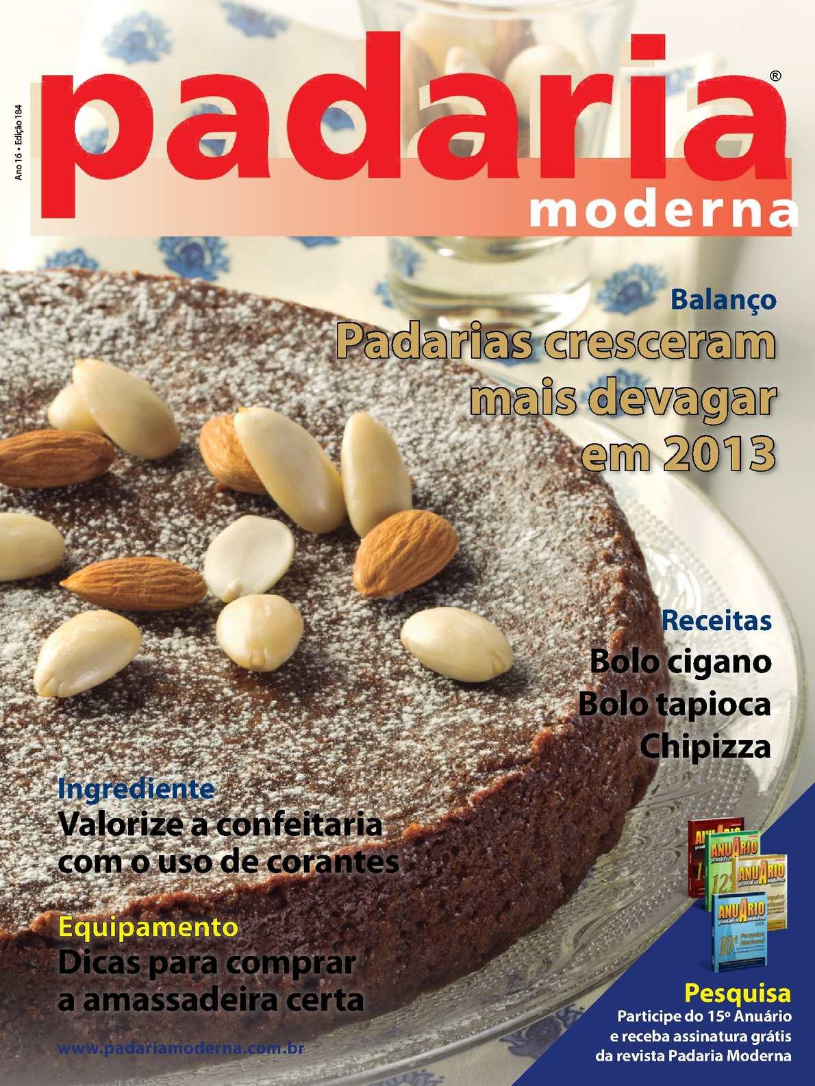 Revista Padaria Moderna - Edição 184