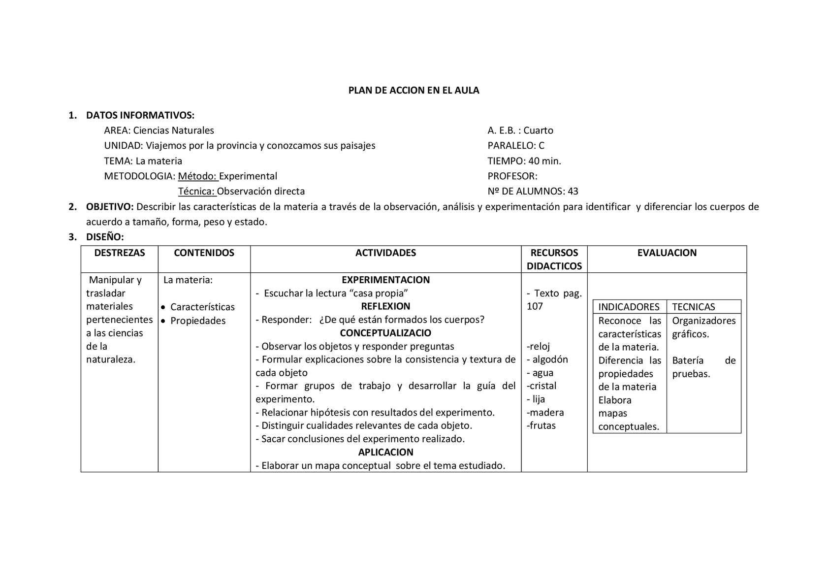 Calaméo - PLAN DE CLASE CICLO ERCA