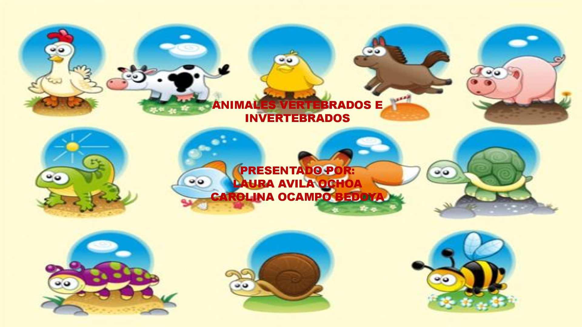 Calam o conociendo los animales vertebrados e invertebrados for Como se cultivan los peces