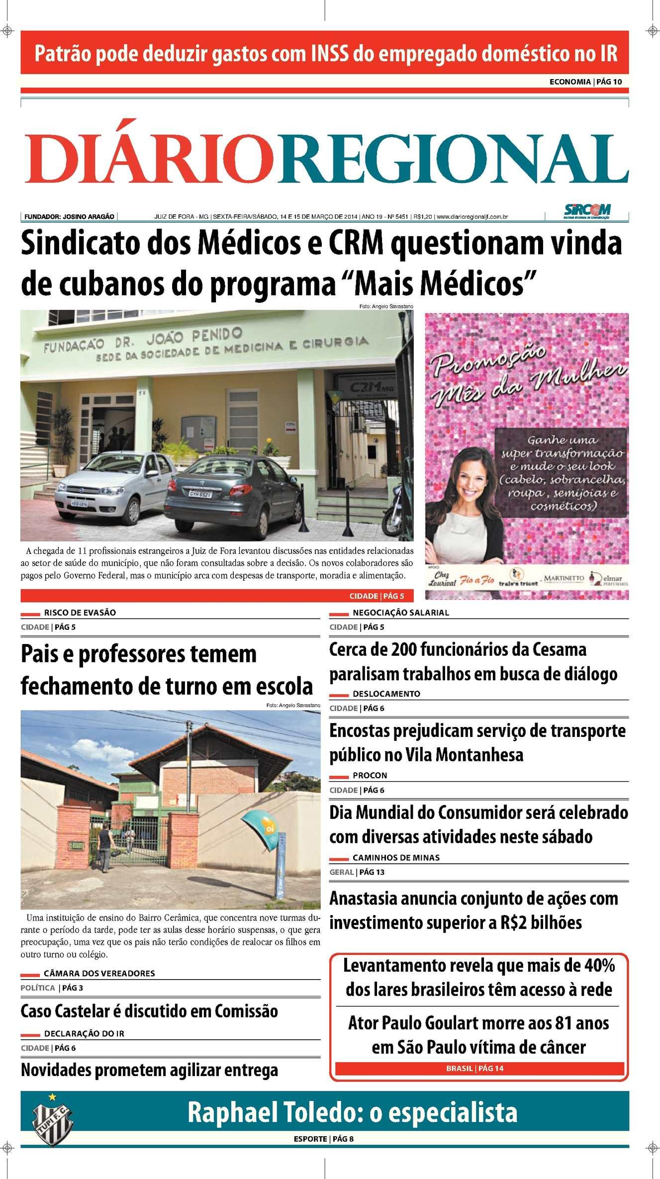 8729e33ac8 Calaméo - Edição 14 e 15 03 2014