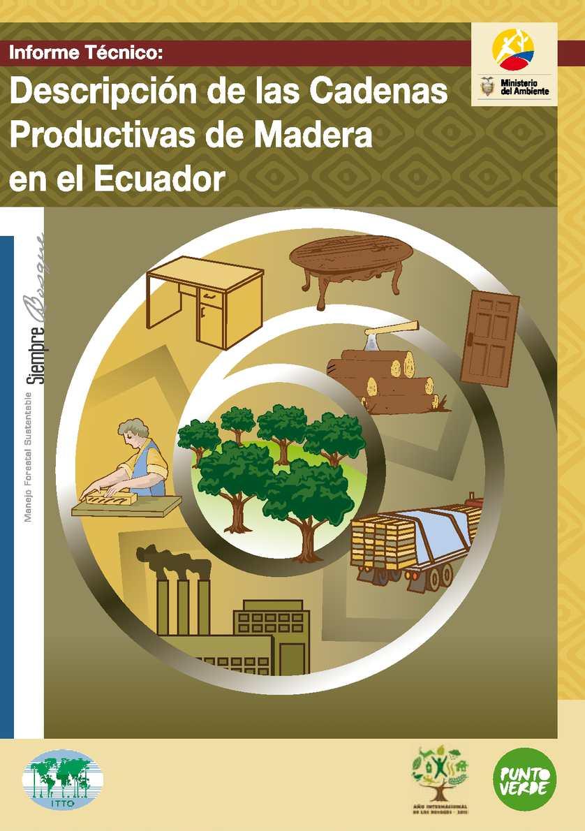 Calam o cadenas productivas de madera en el ecuador for Cadenas de muebles